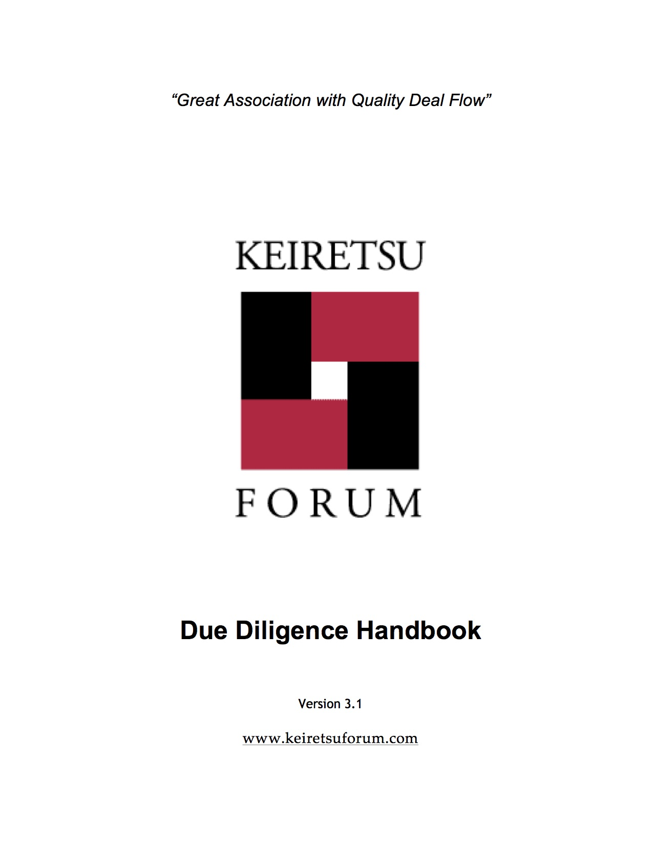 Keiretsu-Forum-DD-Handbook-Version-3.1-due-diligence